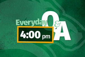 everday q&a graphic text