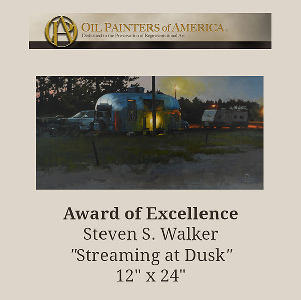 award of excellence oil canvas